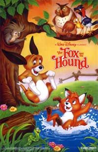 Fox and the Hound, The - 11 x 17 Movie Poster - Style C