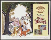Fox and the Hound, The - 30 x 40 Movie Poster UK - Style A