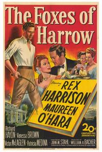 The Foxes of Harrow - 27 x 40 Movie Poster - Style A