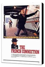 The French Connection - 11 x 17 Movie Poster - Style G - Museum Wrapped Canvas