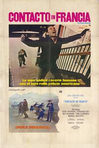 The French Connection - 11 x 17 Movie Poster - Spanish Style A