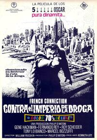 The French Connection - 11 x 17 Movie Poster - Spanish Style D