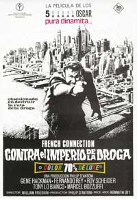 The French Connection - 43 x 62 Movie Poster - Spanish Style A
