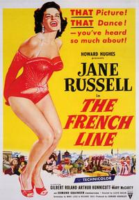 The French Line - 43 x 62 Movie Poster - Bus Shelter Style A