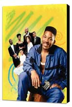 The Fresh Prince of Bel-Air - 11 x 17 TV Poster - Style A - Museum Wrapped Canvas