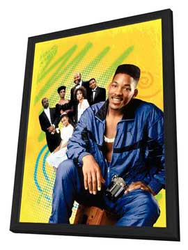 The Fresh Prince of Bel-Air - 27 x 40 TV Poster - Style A - in Deluxe Wood Frame