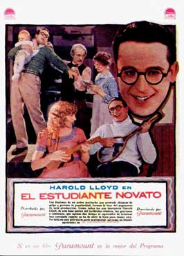 The Freshman - 11 x 17 Movie Poster - Spanish Style A