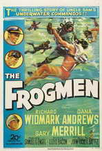The Frogmen - 27 x 40 Movie Poster - Style A