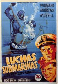 The Frogmen - 11 x 17 Movie Poster - Spanish Style A