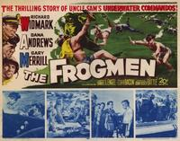 The Frogmen - 22 x 28 Movie Poster - Half Sheet Style A