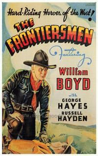 The Frontiersmen - 43 x 62 Movie Poster - Bus Shelter Style A