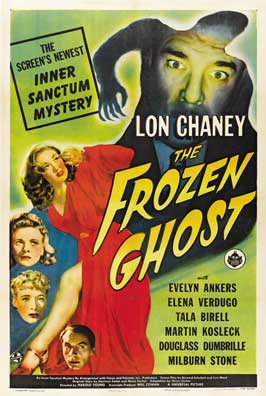 The Frozen Ghost - 11 x 17 Movie Poster - Style A