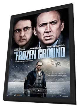 The Frozen Ground - 11 x 17 Movie Poster - Style A - in Deluxe Wood Frame