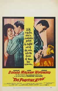 The Fugitive Kind - 27 x 40 Movie Poster - Style B