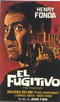 The Fugitive - 11 x 17 Movie Poster - Spanish Style B