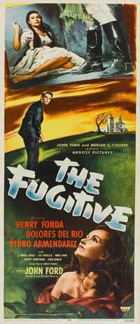 The Fugitive - 14 x 36 Movie Poster - Insert Style A