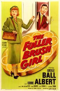 The Fuller Brush Girl - 43 x 62 Movie Poster - Bus Shelter Style A