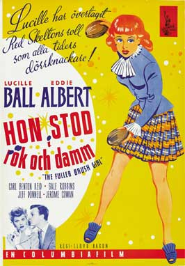 The Fuller Brush Girl - 11 x 17 Movie Poster - Swedish Style A