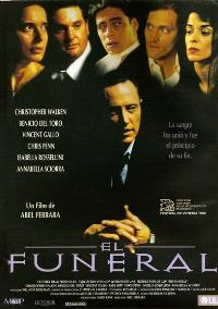 The Funeral - 27 x 40 Movie Poster - Spanish Style A