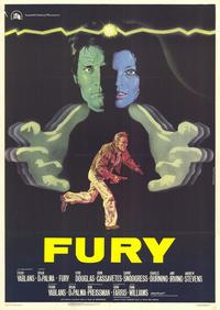 The Fury - 27 x 40 Movie Poster - Italian Style A