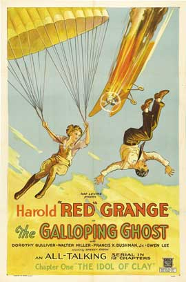 The Galloping Ghost - 27 x 40 Movie Poster - Style C