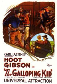 The Galloping Kid - 11 x 17 Movie Poster - Style A