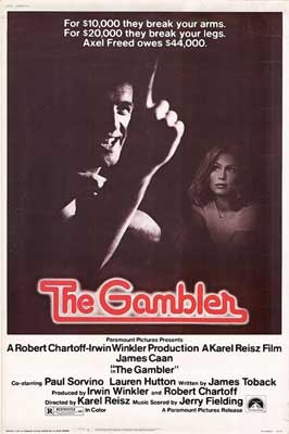 The Gambler - 11 x 17 Movie Poster - Style C