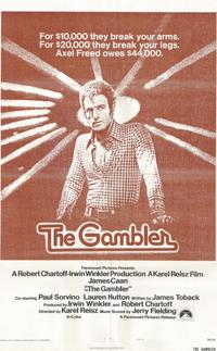 The Gambler - 11 x 17 Movie Poster - Style A