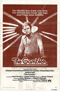 The Gambler - 43 x 62 Movie Poster - Bus Shelter Style A