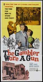 Gambler Wore a Gun - 20 x 40 Movie Poster - Style A