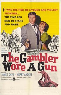 Gambler Wore a Gun - 27 x 40 Movie Poster - Style A