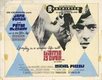 The Game Is Over - 11 x 14 Movie Poster - Style A
