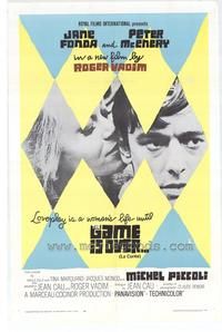 The Game Is Over - 43 x 62 Movie Poster - Bus Shelter Style A