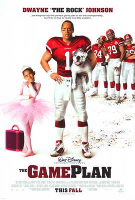 The Game Plan - 27 x 40 Movie Poster - Style A