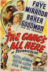 The Gangs All Here - 11 x 17 Movie Poster - Style A