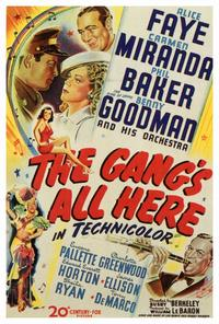 The Gangs All Here - 27 x 40 Movie Poster - Style A