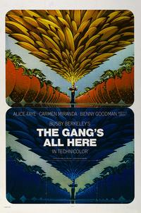 The Gangs All Here - 27 x 40 Movie Poster - Style B