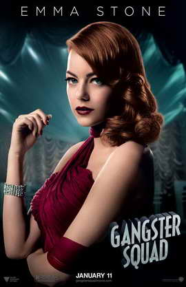 The Gangster Squad - 11 x 17 Movie Poster - Style D