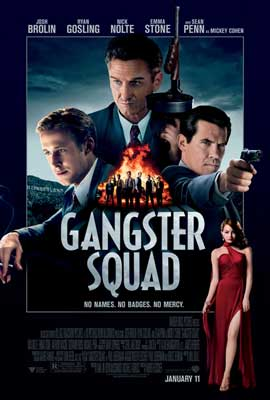 The Gangster Squad - 11 x 17 Movie Poster - Style A