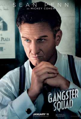 The Gangster Squad - 11 x 17 Movie Poster - Style K