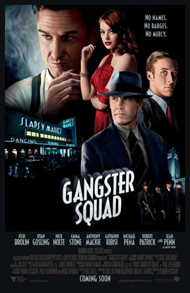 The Gangster Squad - 27 x 40 Movie Poster - Style B