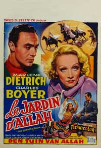 Garden of Allah, The - 11 x 17 Movie Poster - Belgian Style A