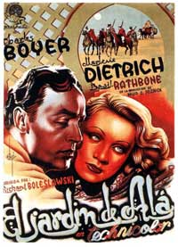 The Garden of Allah - 11 x 17 Movie Poster - Spanish Style B
