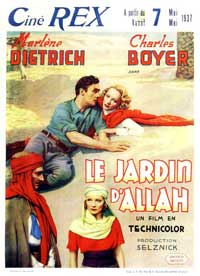 The Garden of Allah - 11 x 17 Movie Poster - French Style A
