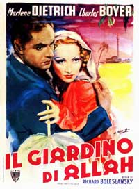 The Garden of Allah - 11 x 17 Movie Poster - Italian Style A