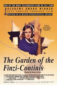 The Garden of the Finzi-Continis - 27 x 40 Movie Poster - Style A