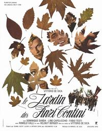 The Garden of the Finzi-Continis - 11 x 17 Movie Poster - French Style A