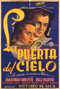 The Gate of Heaven - 11 x 17 Movie Poster - Spanish Style A