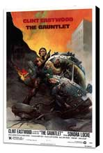 The Gauntlet - 27 x 40 Movie Poster - Style B - Museum Wrapped Canvas