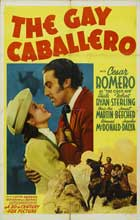 The Gay Caballero - 27 x 40 Movie Poster - Style A